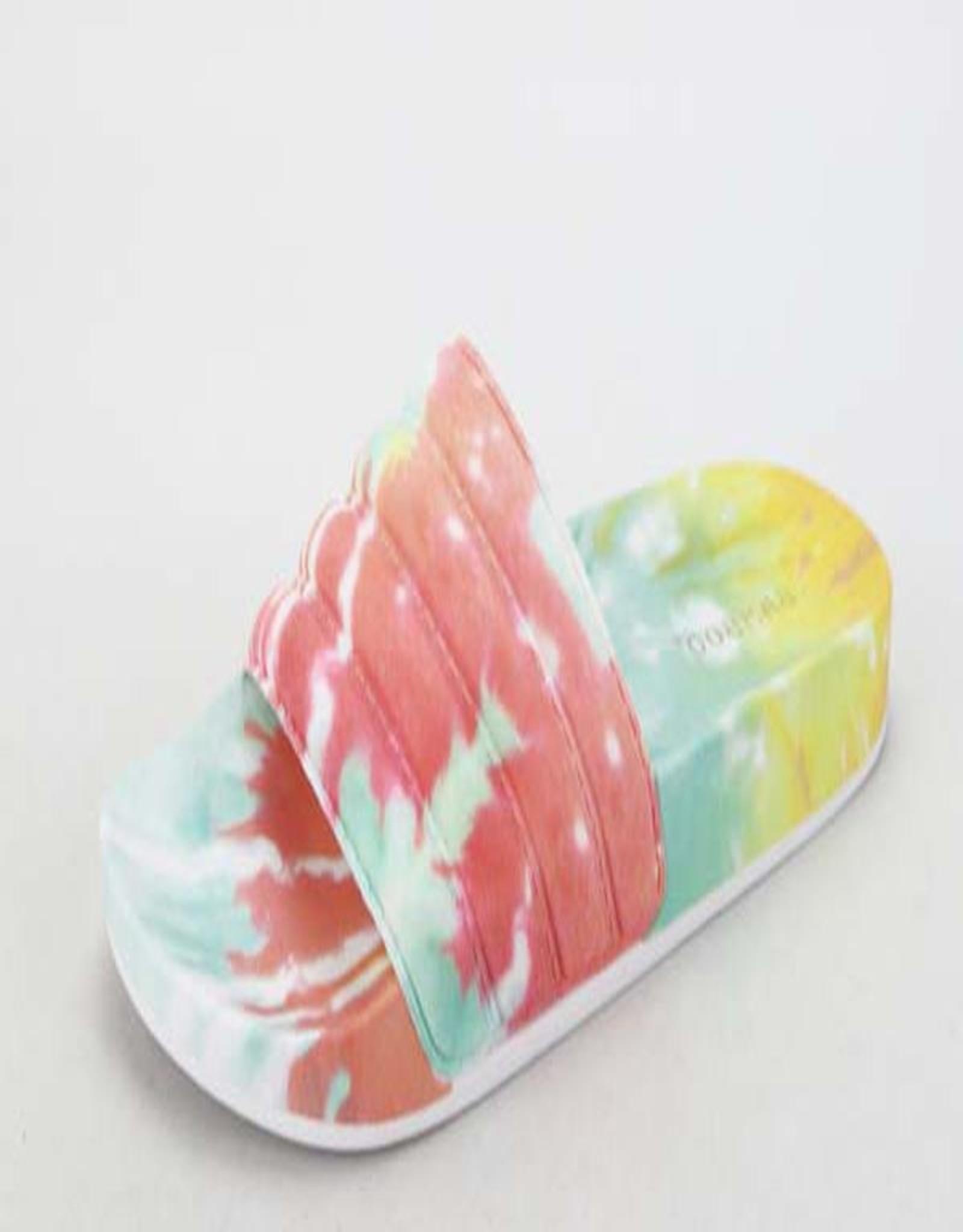 tie dye slide