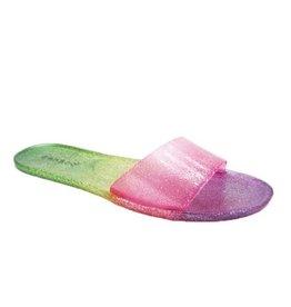 rainbow jelly slide
