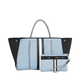 neoprene blue bag
