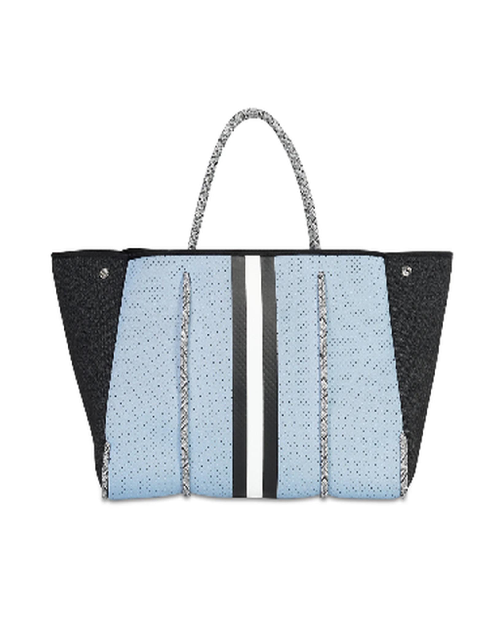 Neoprene blue bag