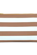 Striped wristlet