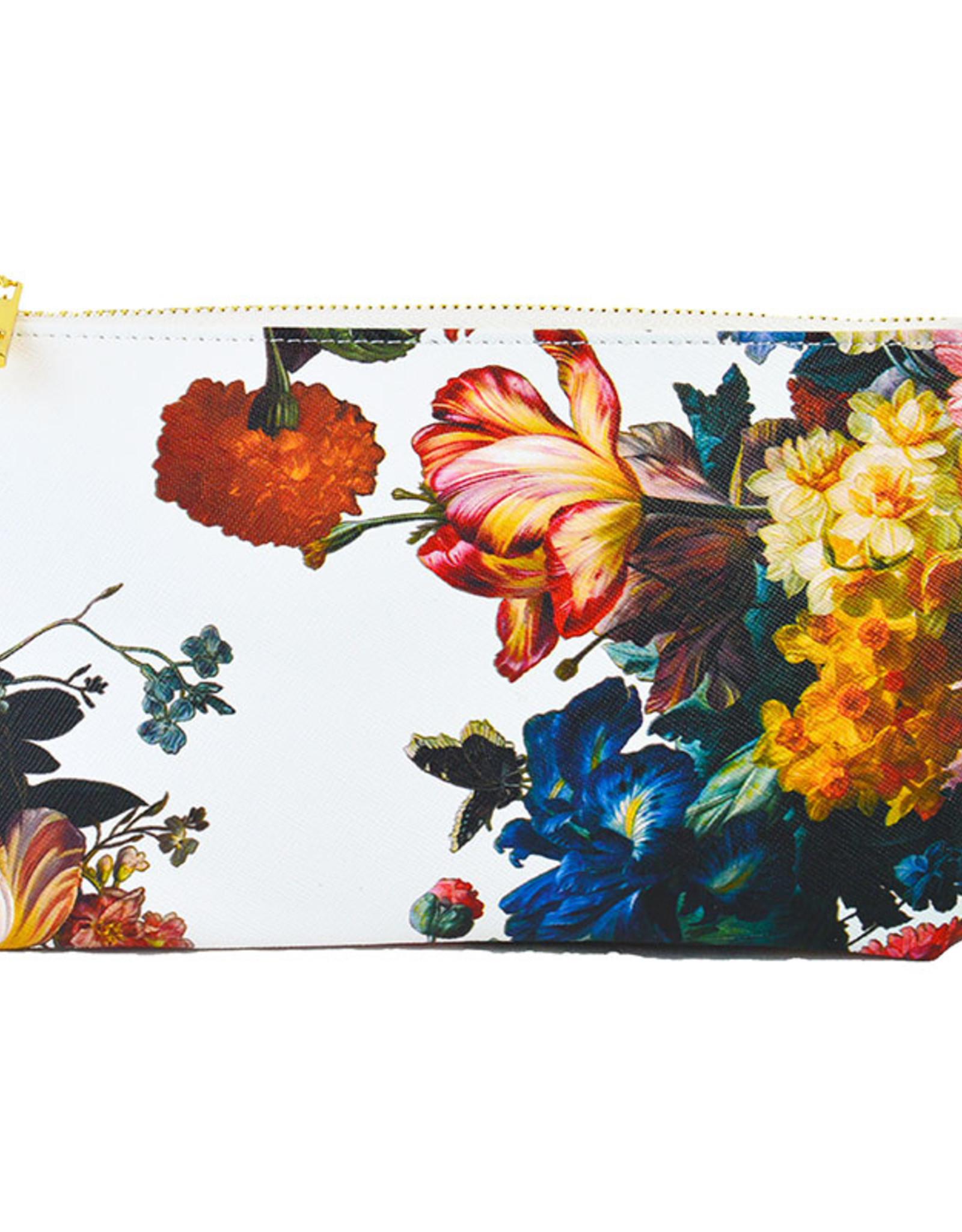 floral wristlet