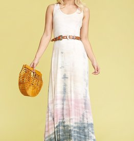 Towne Tie dye maxi dress