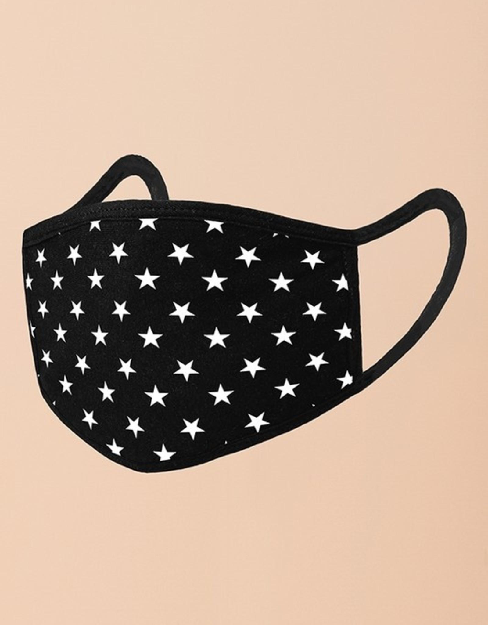 allover stars mask