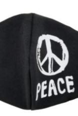 peace mask black