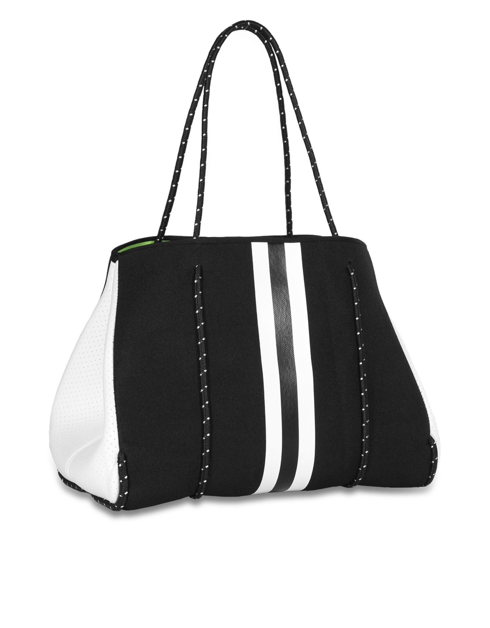 black and white tote greyson twist