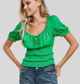 Smocked blouse