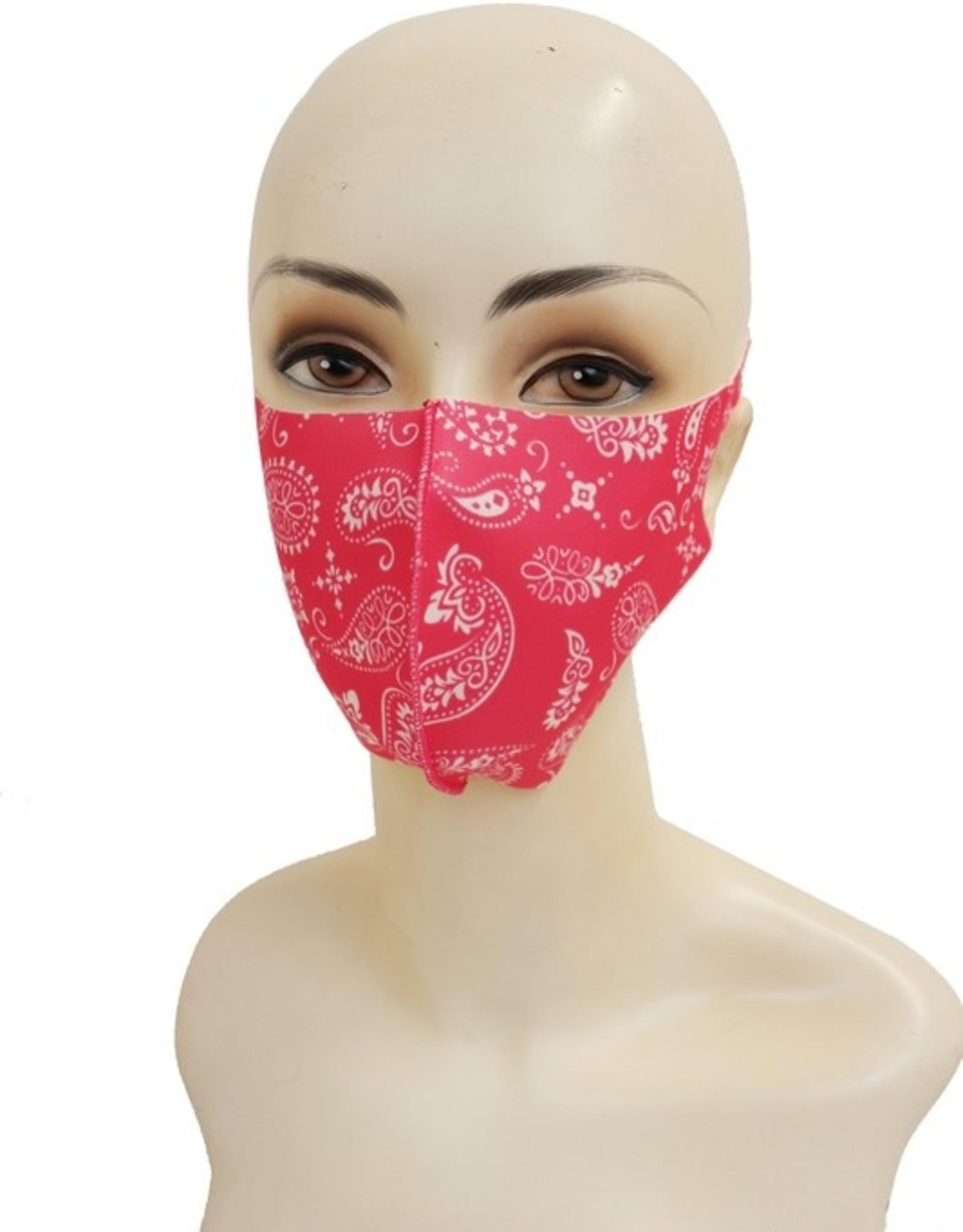 Paisley mask