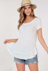 Thermal open back tee