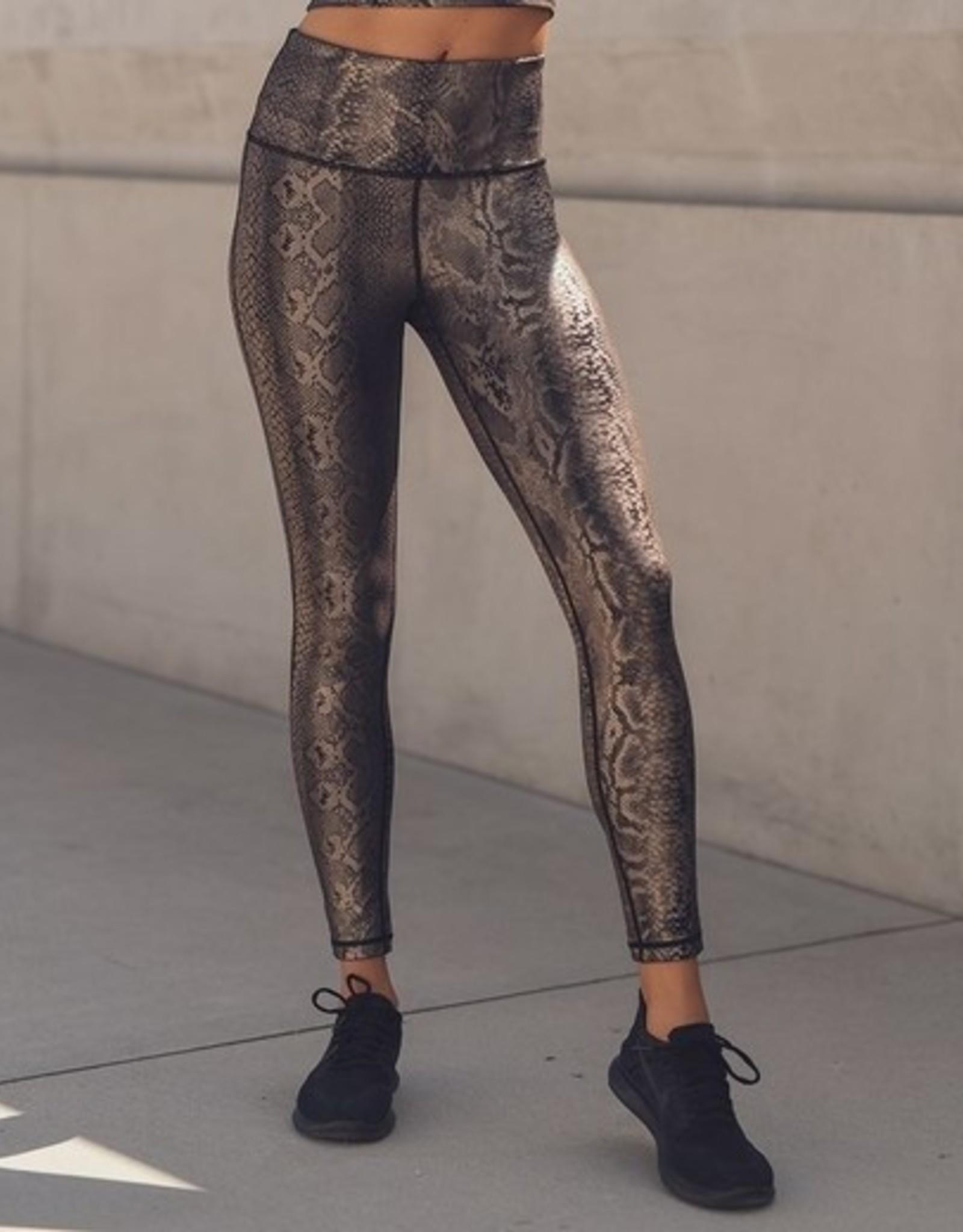 Snake copper legging