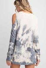 One shoulder cutout top