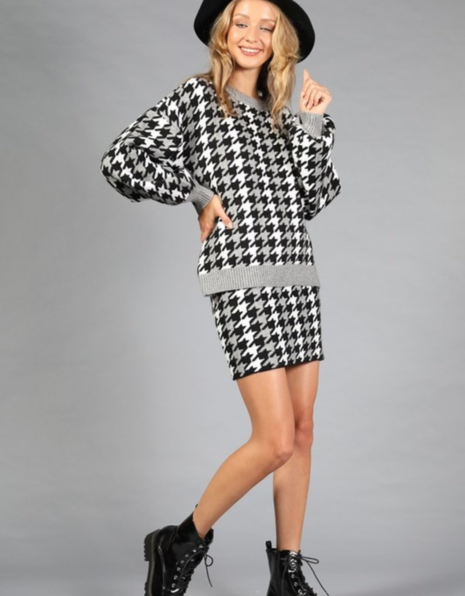 Houndstooth mini