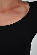 Long sleeve scoop neck underpinning