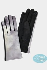 Tie dye gloves