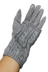 Fur lined smart gloves