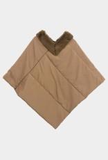 Puffer cape