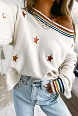 Stripes & stars sweater