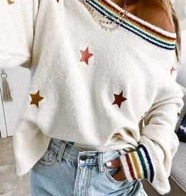 Stripes & stars sweater