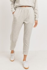 French terry crop jogger