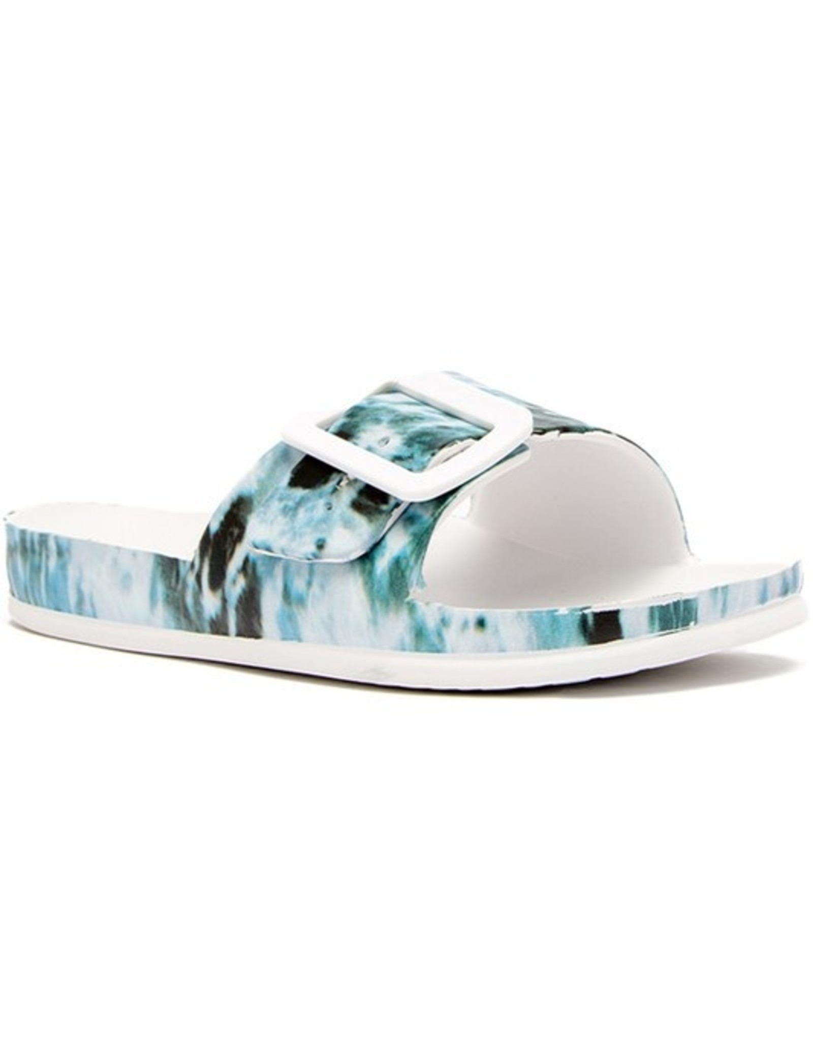 Print slide with buckle