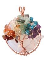 Color stone pendant