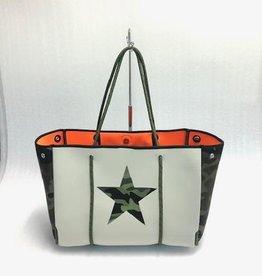 Camo star bag