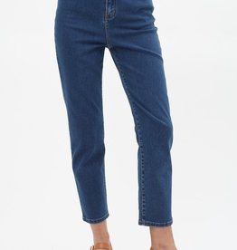 Double button fly jean