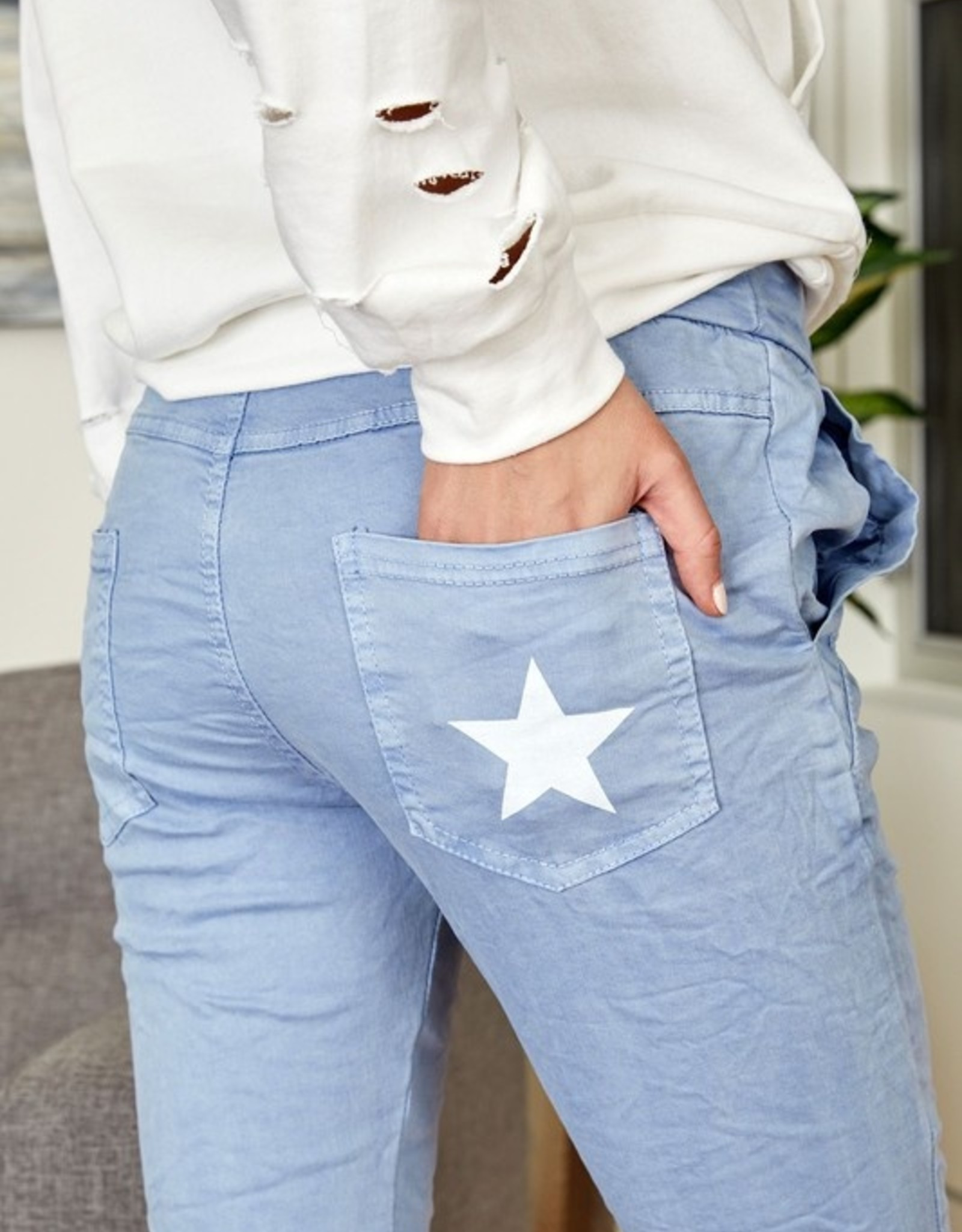 Star back pant