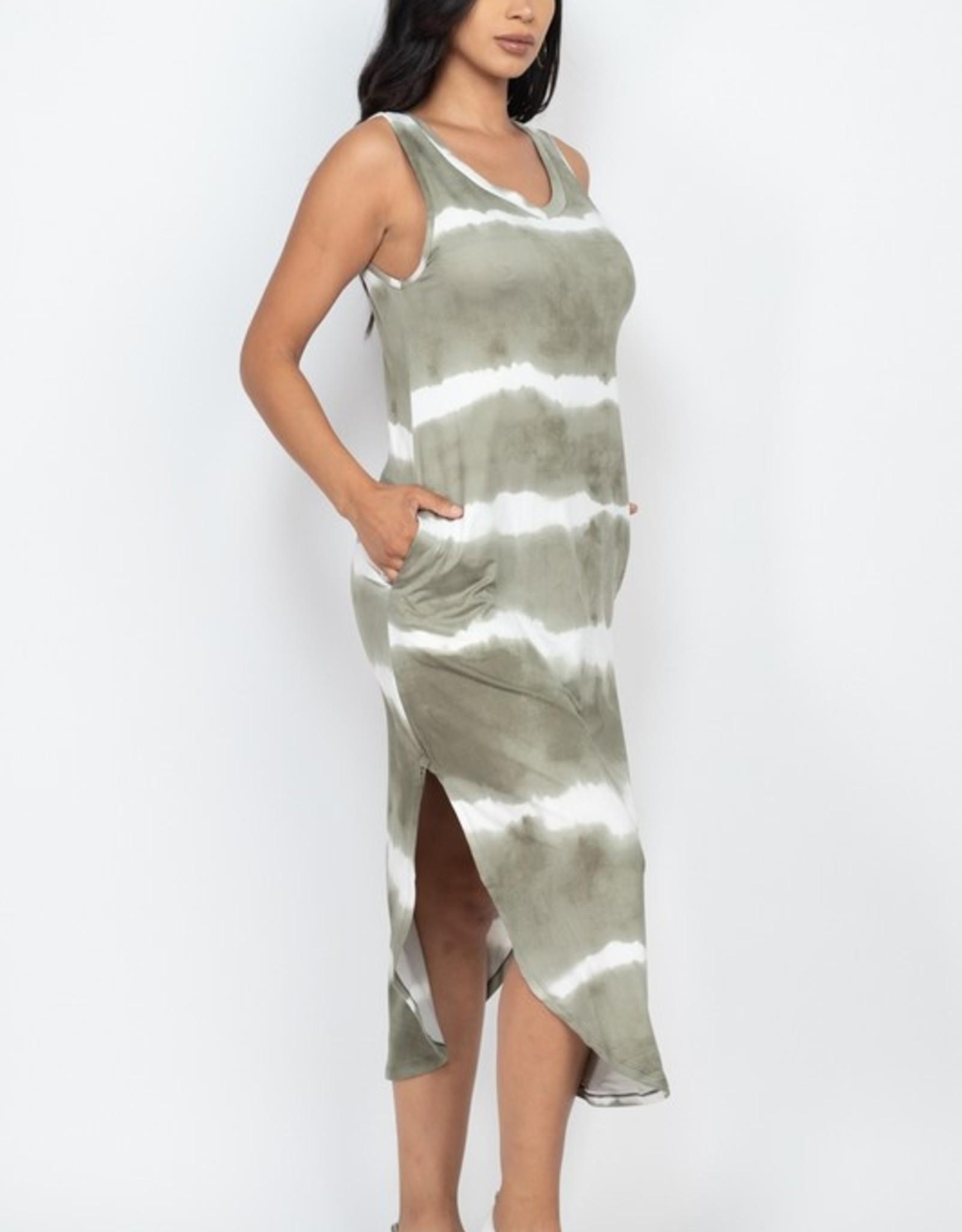 Tiedye maxi dress