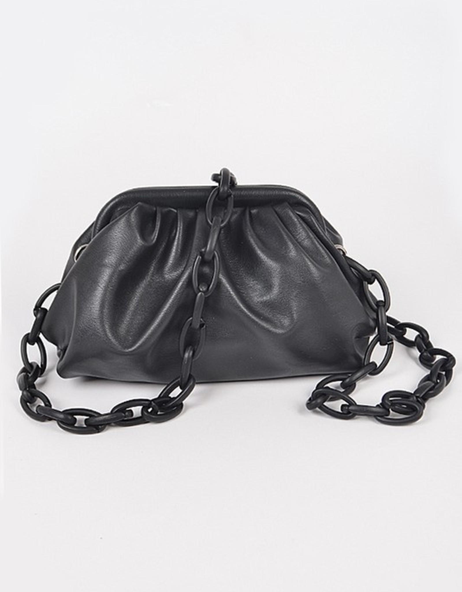 Chain strap clutch