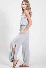 Side split jumpsuit