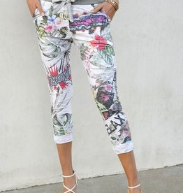 Floral jogger