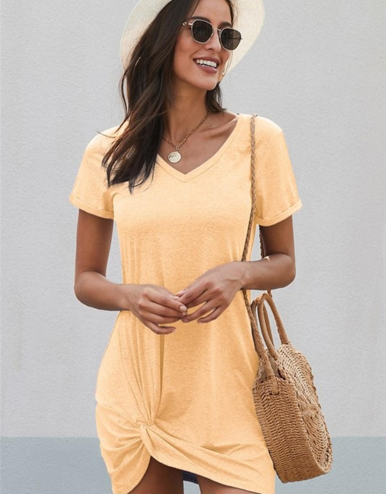 Tee shirt dress