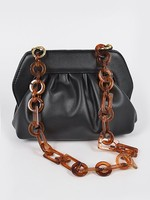 Tortoise chain bag