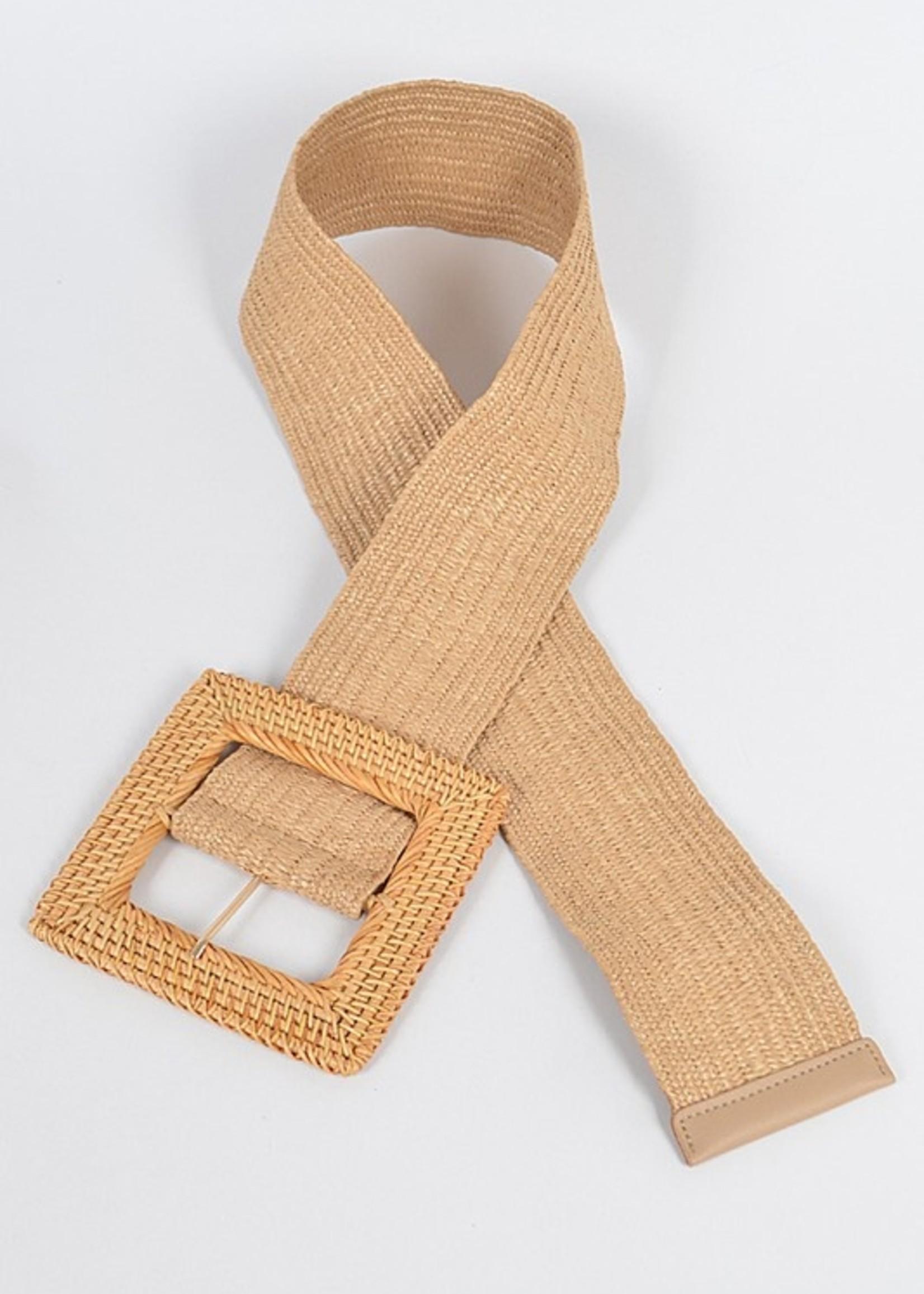 Bamboo belt