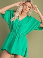 Kimono sleeve romper 2 colors