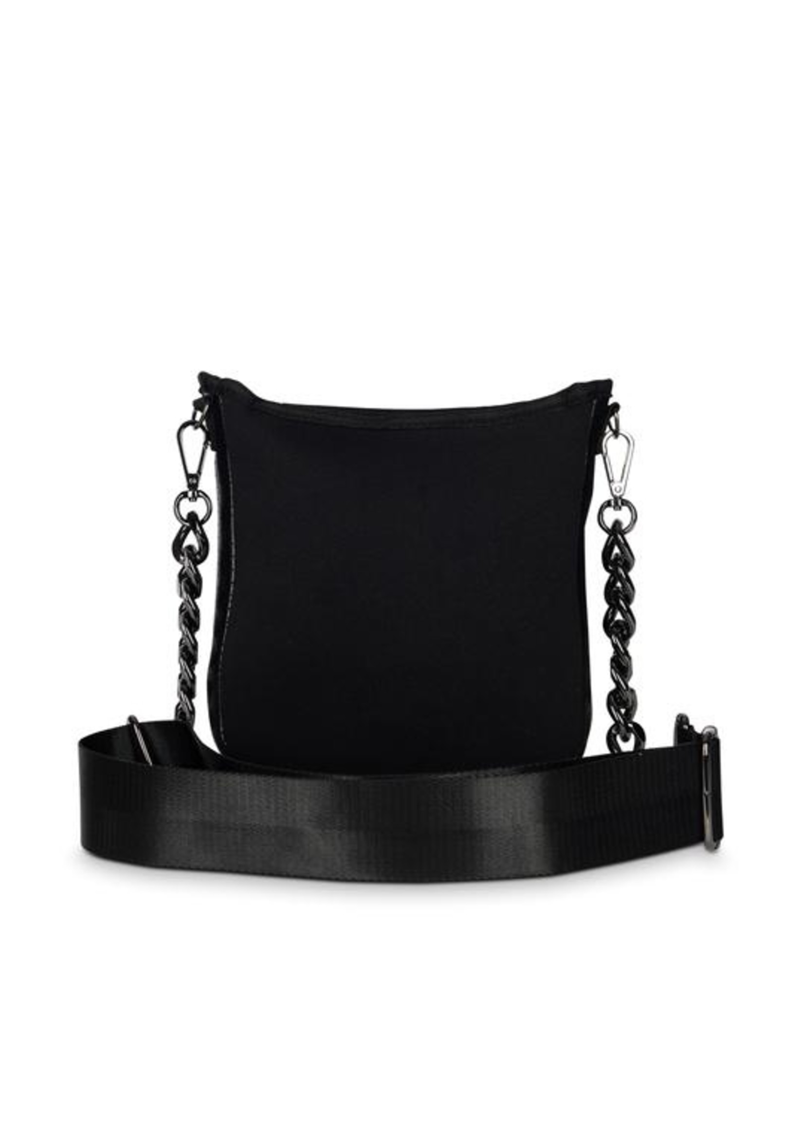 Chain strap bag jeri noir