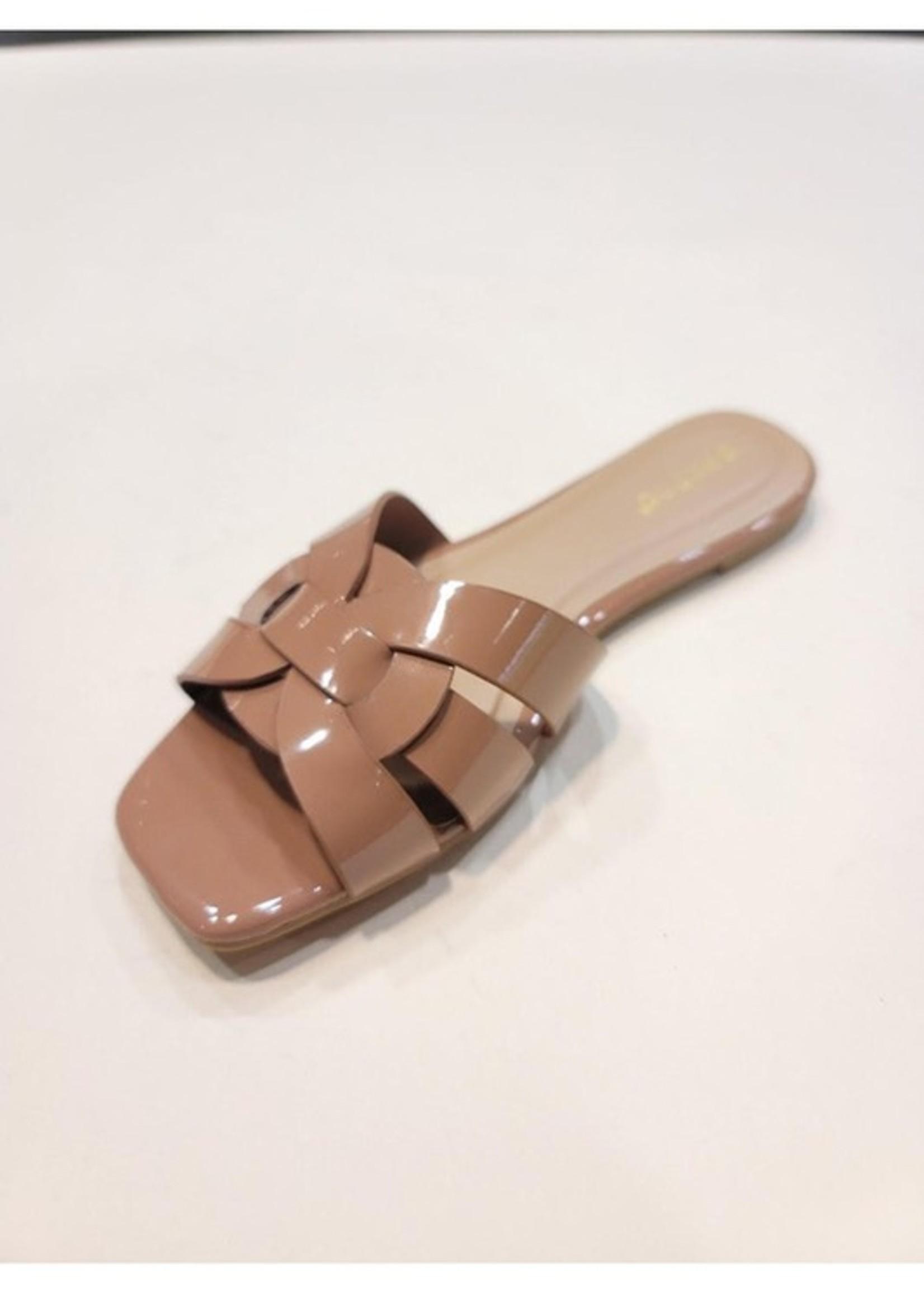 Flat sandal 2 colors
