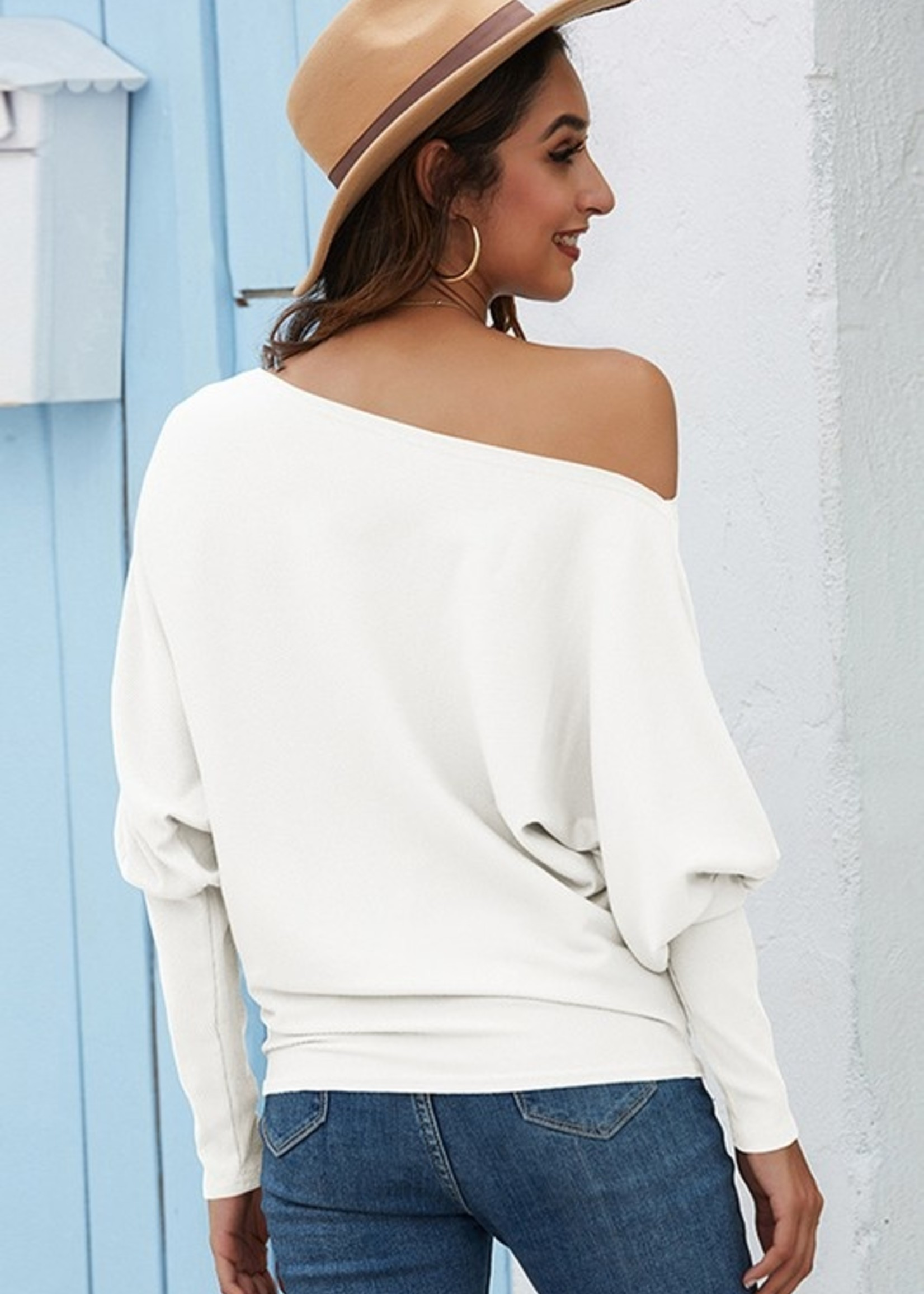 Dolman knit top