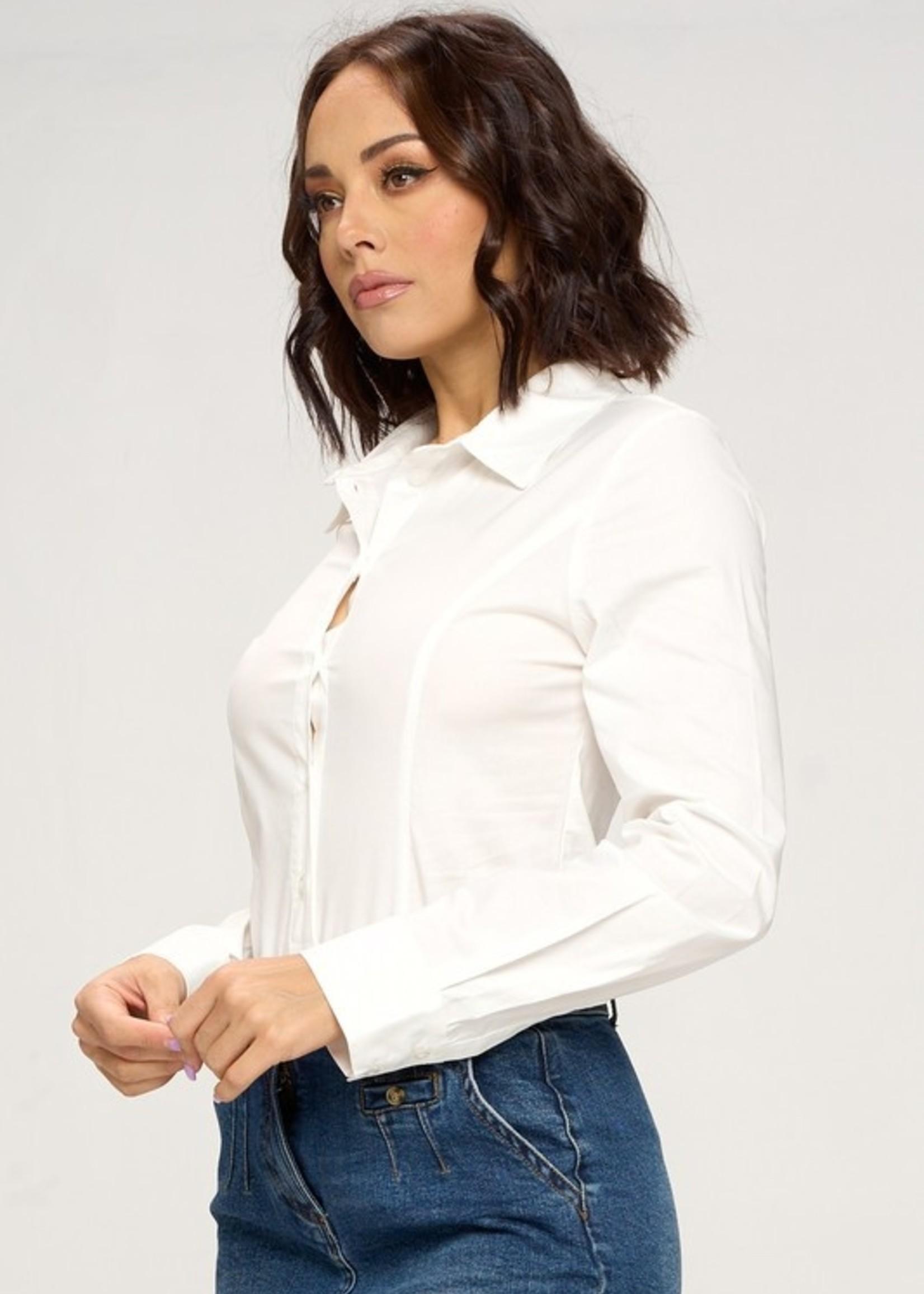 Shirt bodysuit