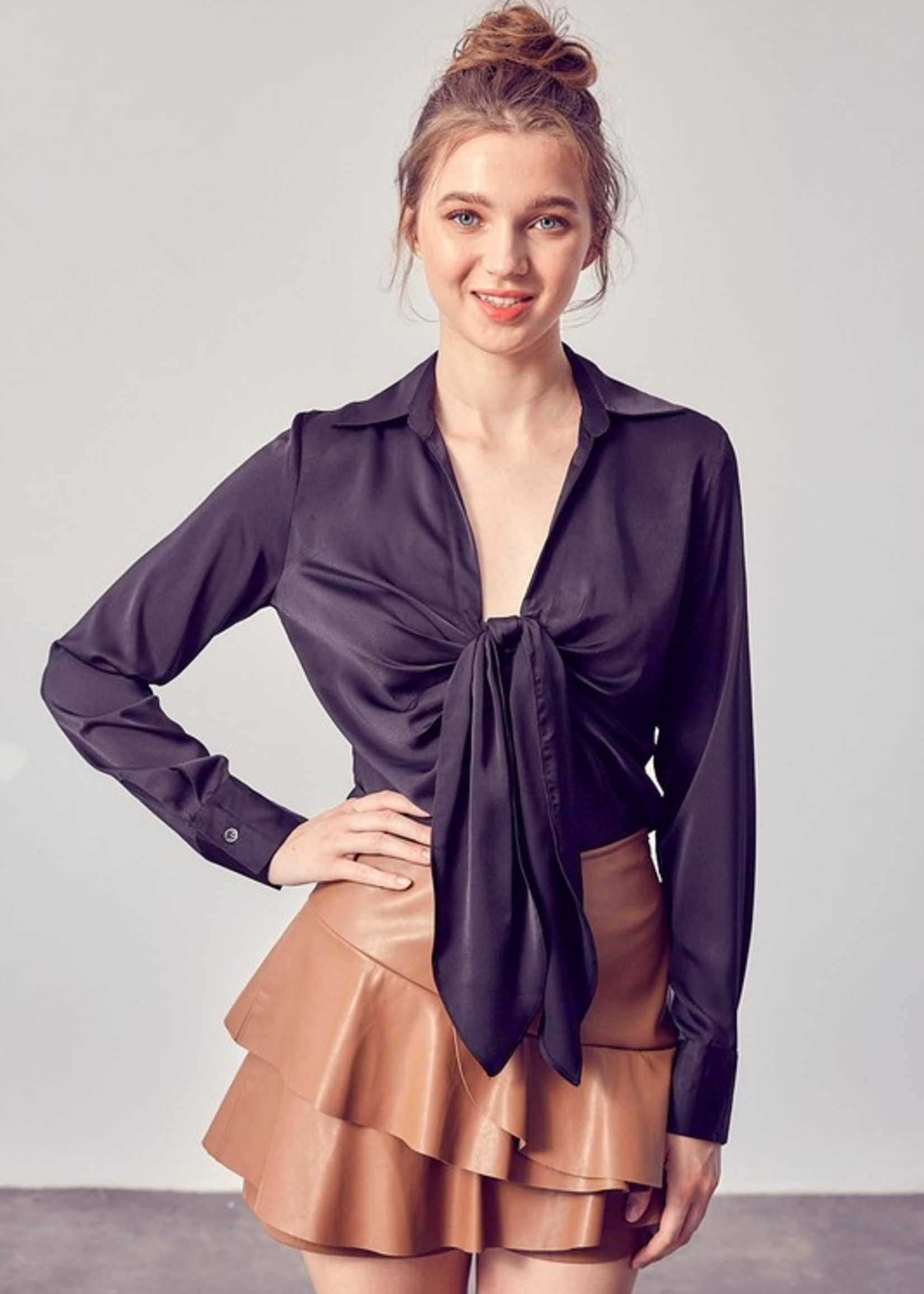 Front gathered top