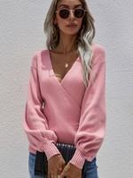 Surplice sweater +4 colors