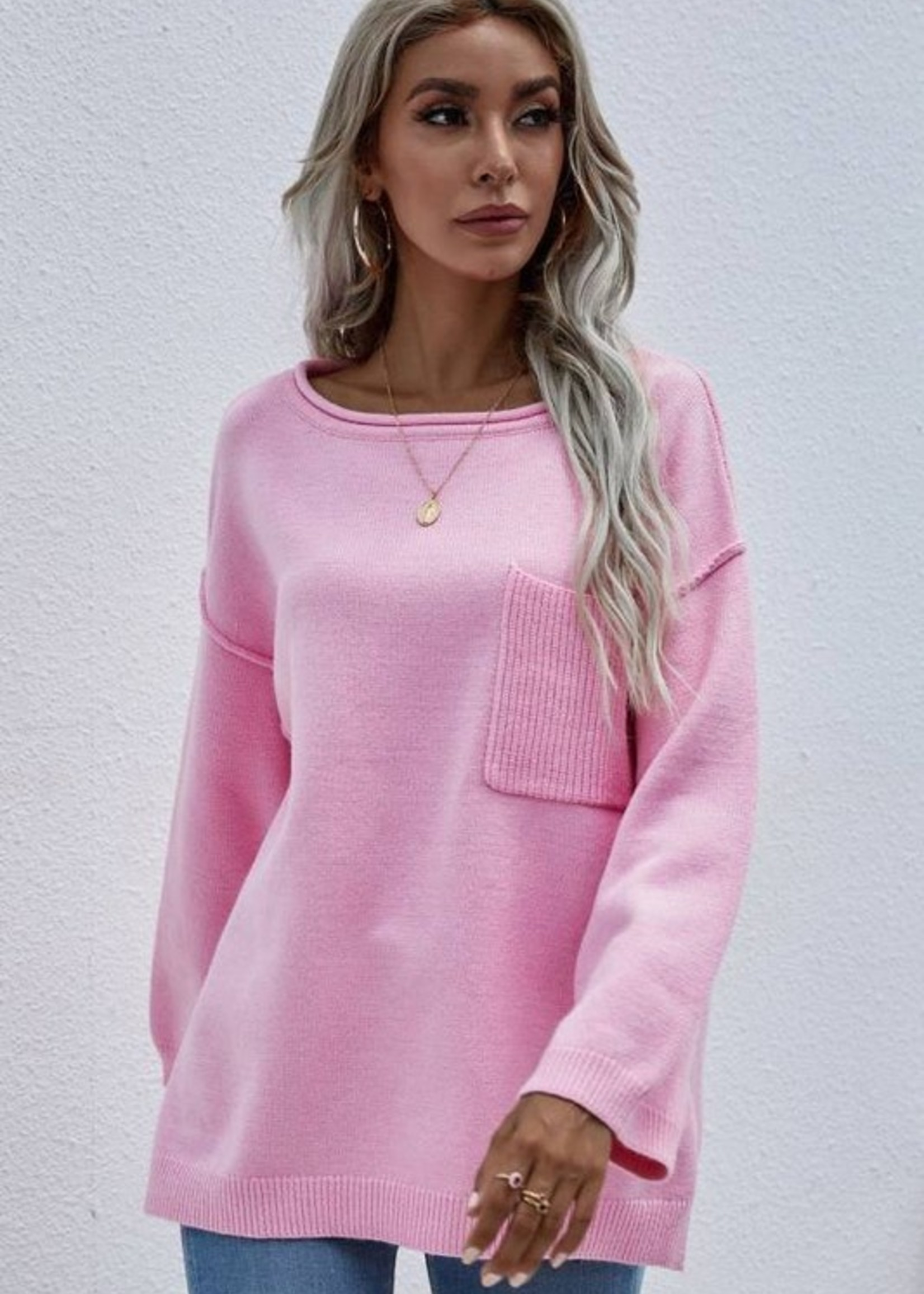 One pocket sweater