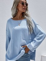 One pocket sweater  +3 colors