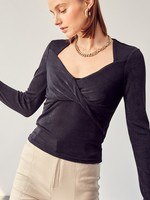 Slinky fitted top  + 2 colors
