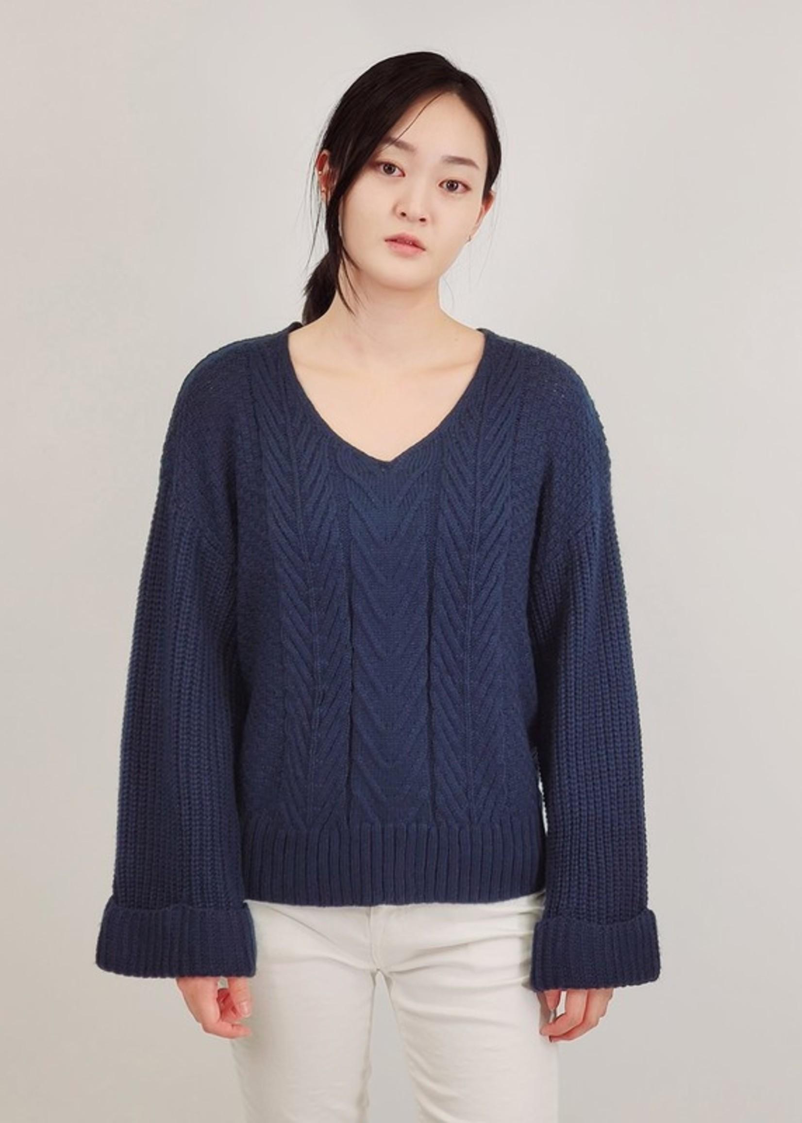 Bell sleeve sweater