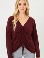 Ruched sweater  +5 colors