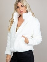 Faux fur jacket  +3 colors