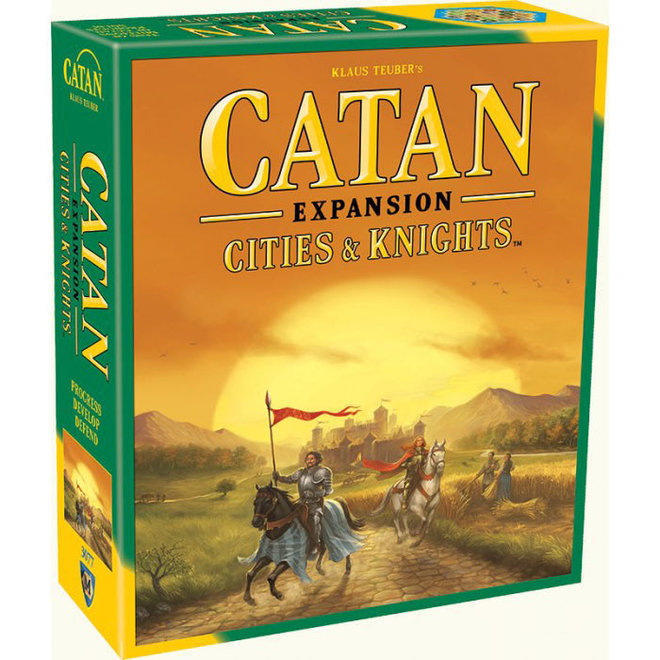 Catan: Cities and Knights Game Expansion
