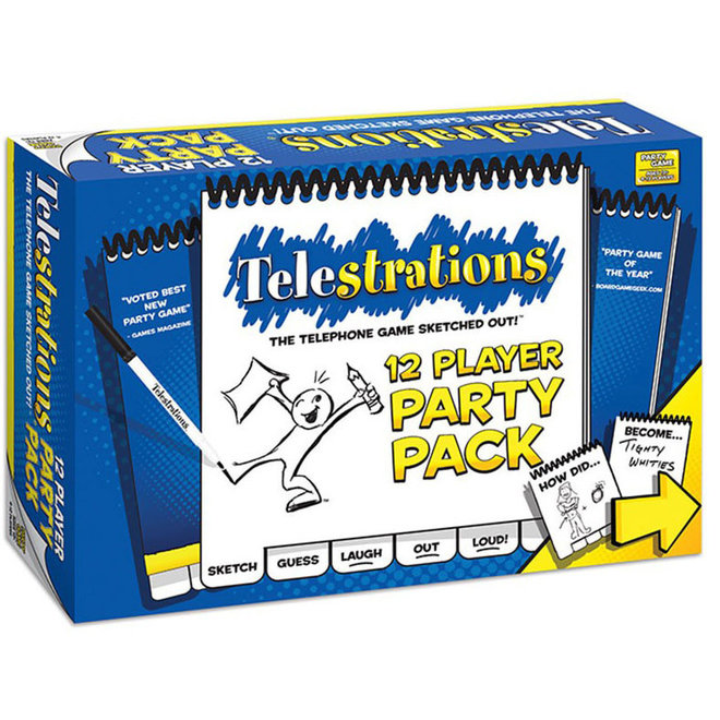 Telestrations 12-Player Party Pack